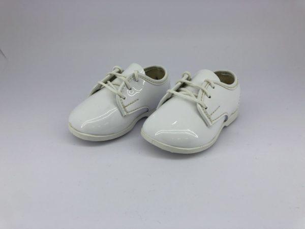 cefai 2 white baby shoes