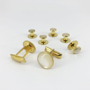 cefai cufflinks 3 ivory gold