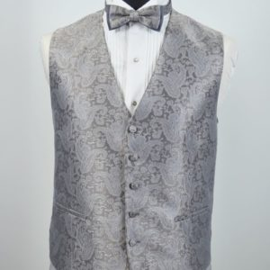 cefaiformalwear vest prod Metal Grey
